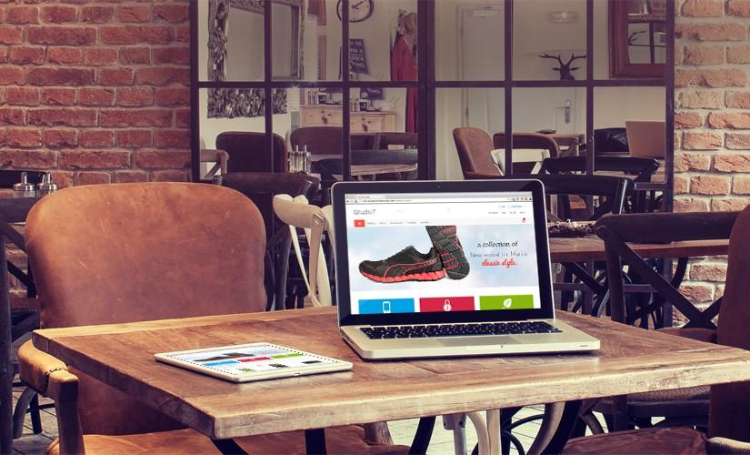 eCommerce website for online business