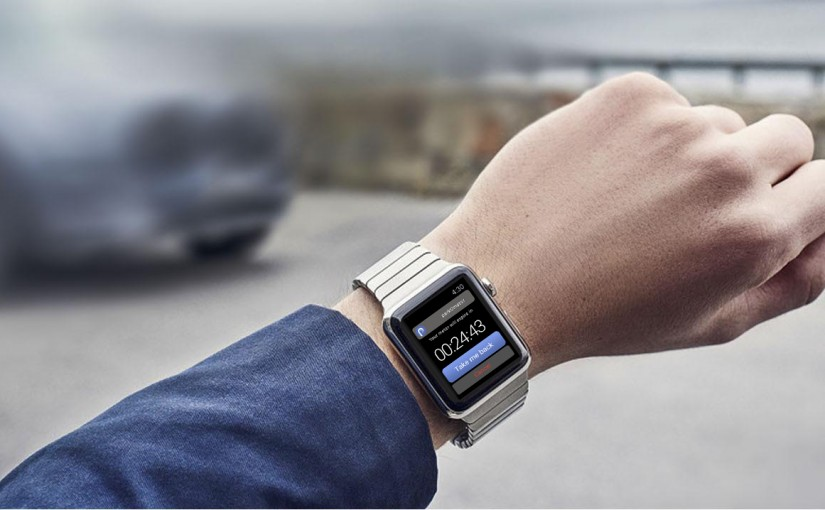 parkomator app for apple watch